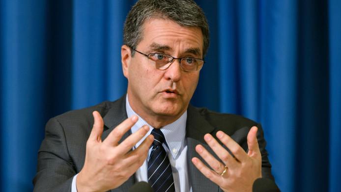 Roberto Azevedo, président de l'OMC.