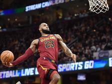 Warriors onderuit bij OKC, LeBron James schittert in vierde kwart
