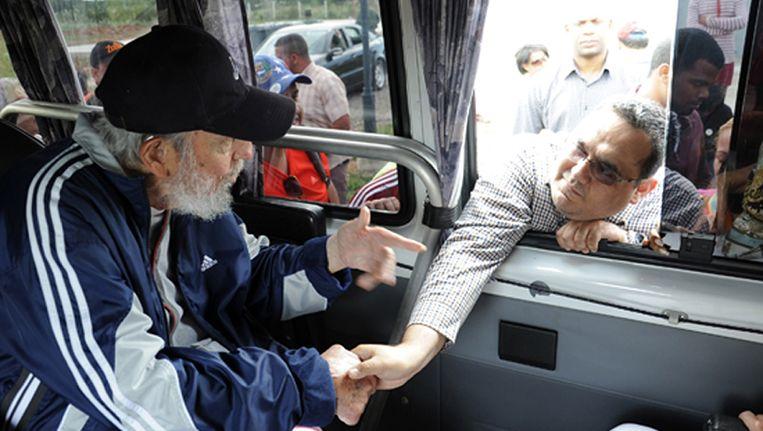 Fidel Castro in Havana. Beeld AFP