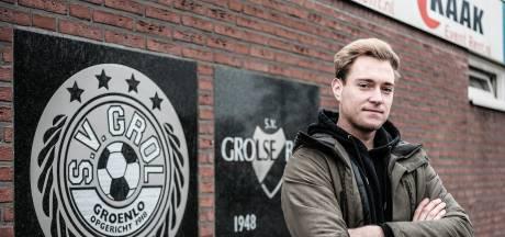 Grol-topschutter Luc Berentsen baalt van lockdown: 'Voetbal is mijn leven'