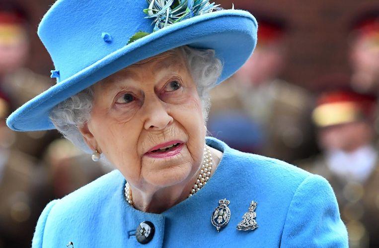 De Britse koningin Elizabeth II Beeld epa