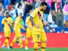Ongeïnspireerd Barcelona blameert zich bij Levante