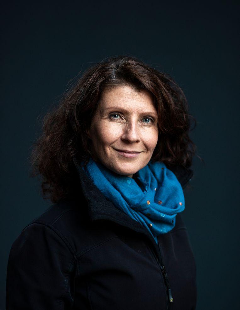 Esther Ouwehand: 'De partij bestaat deze week zeventien jaar. Dan hoort het er bij dat je een keer een strubbeling hebt.' Beeld Jiri Büller