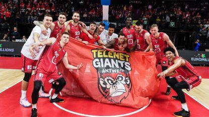 Antwerp Giants pakt tweede beker op rij