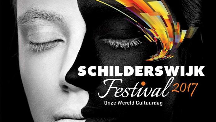 De poster van het festival. ,,De wereld op één plein'', noemt de organisator het.