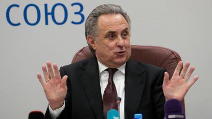 Vitaly Mutko tijdelijk geen voorzitter van Russische voetbalbond
