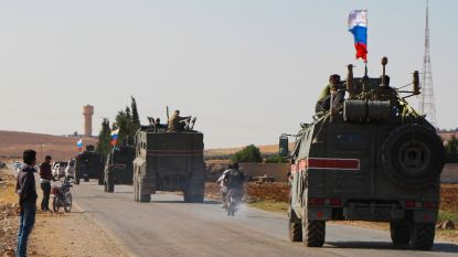 """Russische eenheden arriveren in Syrische stad Kobani om vertrek van Koerdische strijders te """"faciliteren"""""""