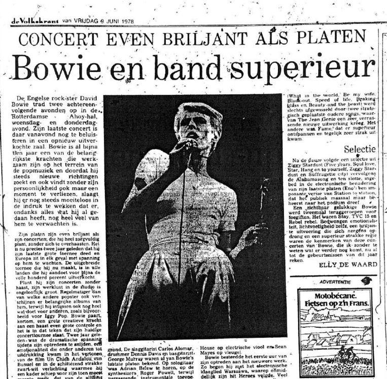Het origineel van dit artikel uit 1978. Beeld De Volkskrant
