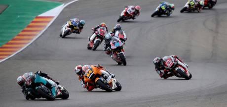 Lowes nieuwe leider Moto2, Bendsneyder 16de in GP Teruel
