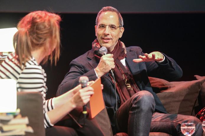 Topchef Ottolenghi geeft lezing in de Vooruit in Gent.