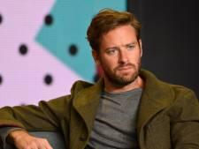 Armie Hammer stapt uit film na ophef over 'schokkende privéberichten'