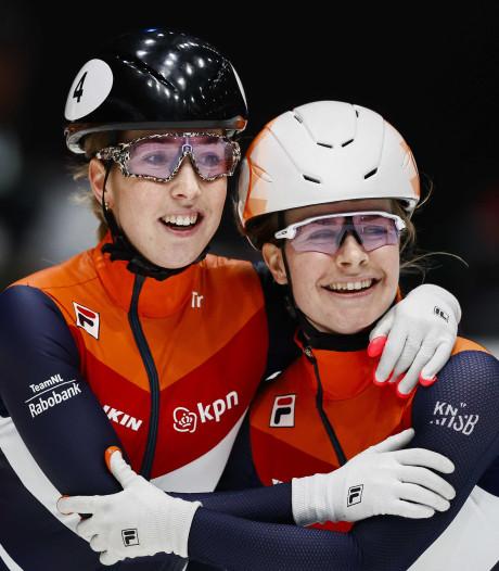 Van Ruijven en Van Kerkhof pakken goud en zilver op 500 meter