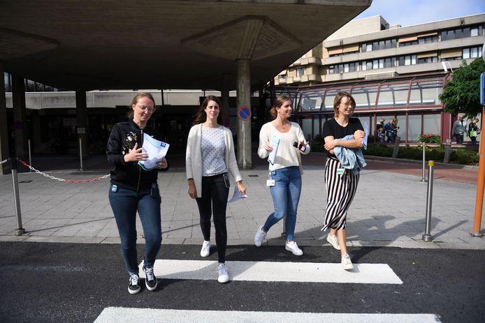 UZ Leuven organiseert een stappenclash: 150 teams zetten gedurende een maand 10.000 stappen per dag.