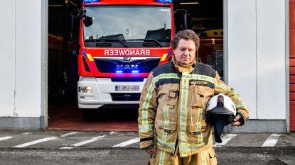 """Brandweerman Frans Van Dam neemt afscheid na 36 jaar dienst: """"Verlies van onze commandant bij brand Ontex vergeet ik nooit"""""""