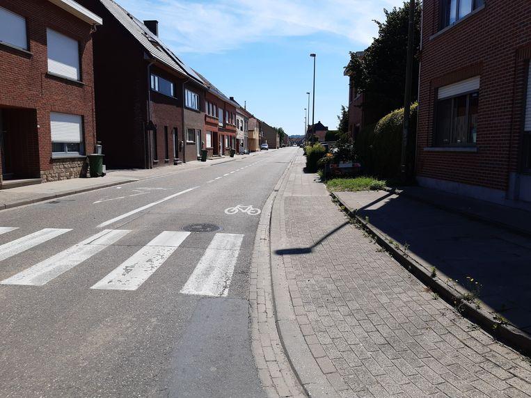 De Weggevoerdenstraat in Wilsele is momenteel niet de veiligste straat maar er is beterschap op komst.