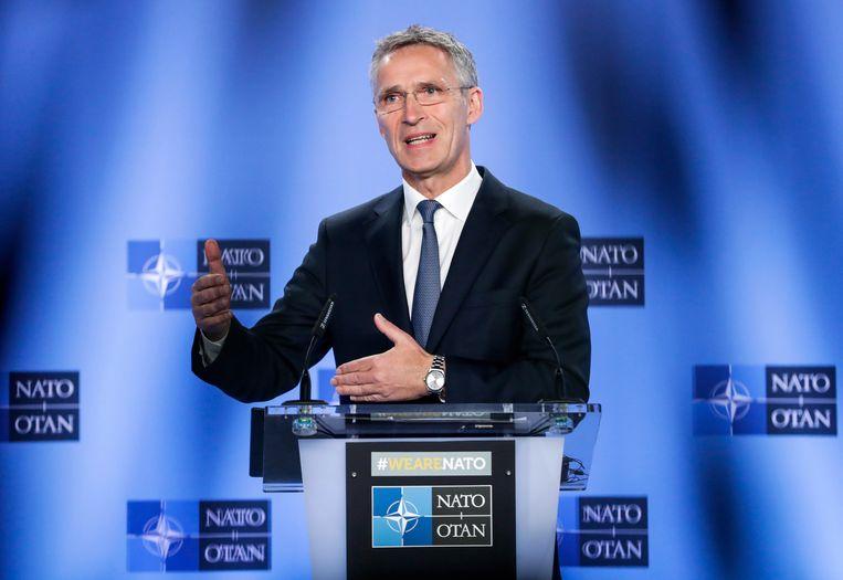 NAVO-secretaris-generaal Jens Stoltenberg