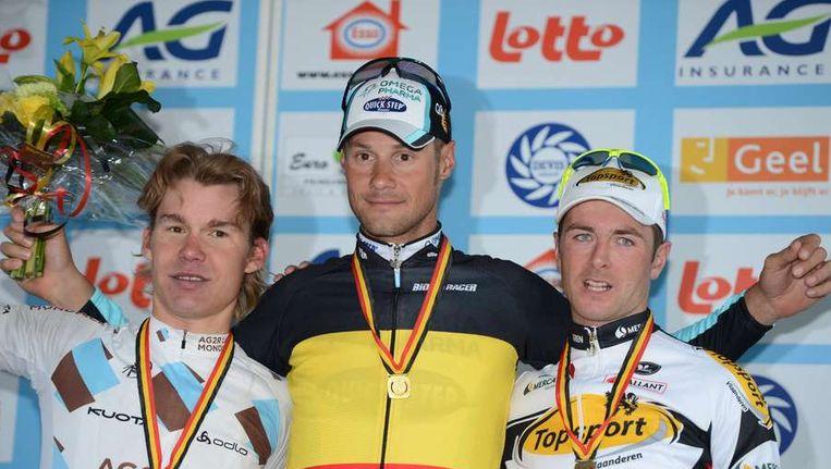 Boonen werd dit jaar nationaal kampioen van België. Beeld afp