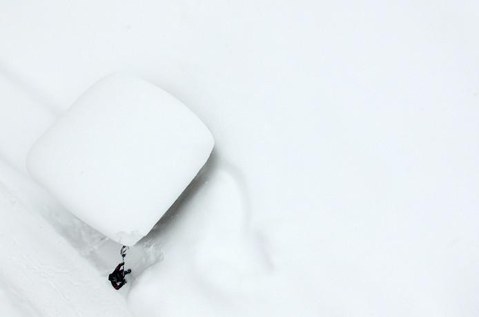 De afgelopen dagen viel er op sommige plekken in de Oostenrijkse Alpen meer dan 2 meter sneeuw.