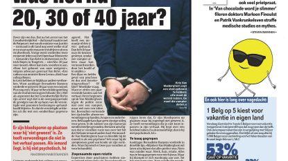 Straf voor moord: was het nu 20, 30 of 40 jaar?