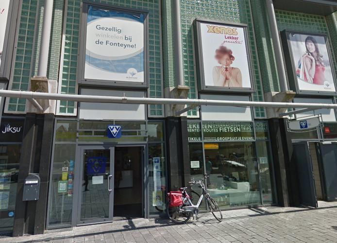 Het VVV-kantoor aan de Spuistraat in Vlissingen