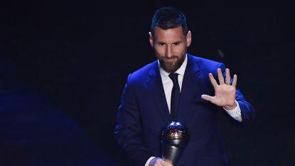 Lionel Messi verkozen tot FIFA-voetballer van het jaar, Hazard in beste elftal