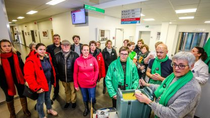 Stil protest in Sint-Rembertziekenhuis: personeel pikt besparingen niet