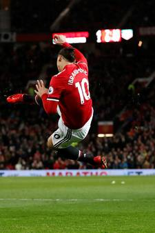 Zlatan maakt na zeven maanden rentree bij winnend ManUnited