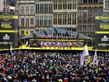 """Vreemdste Ronde van Vlaanderen ooit start uitzonderlijk op Steenplein: """"Blijf thuis, uit liefde voor de koers"""""""