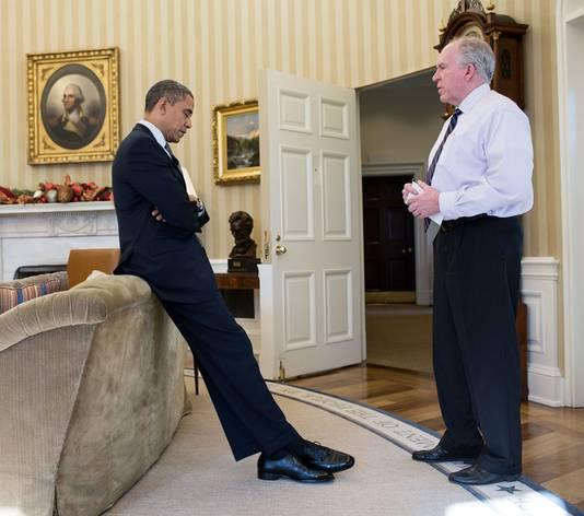 Barack Obama et John Brennan