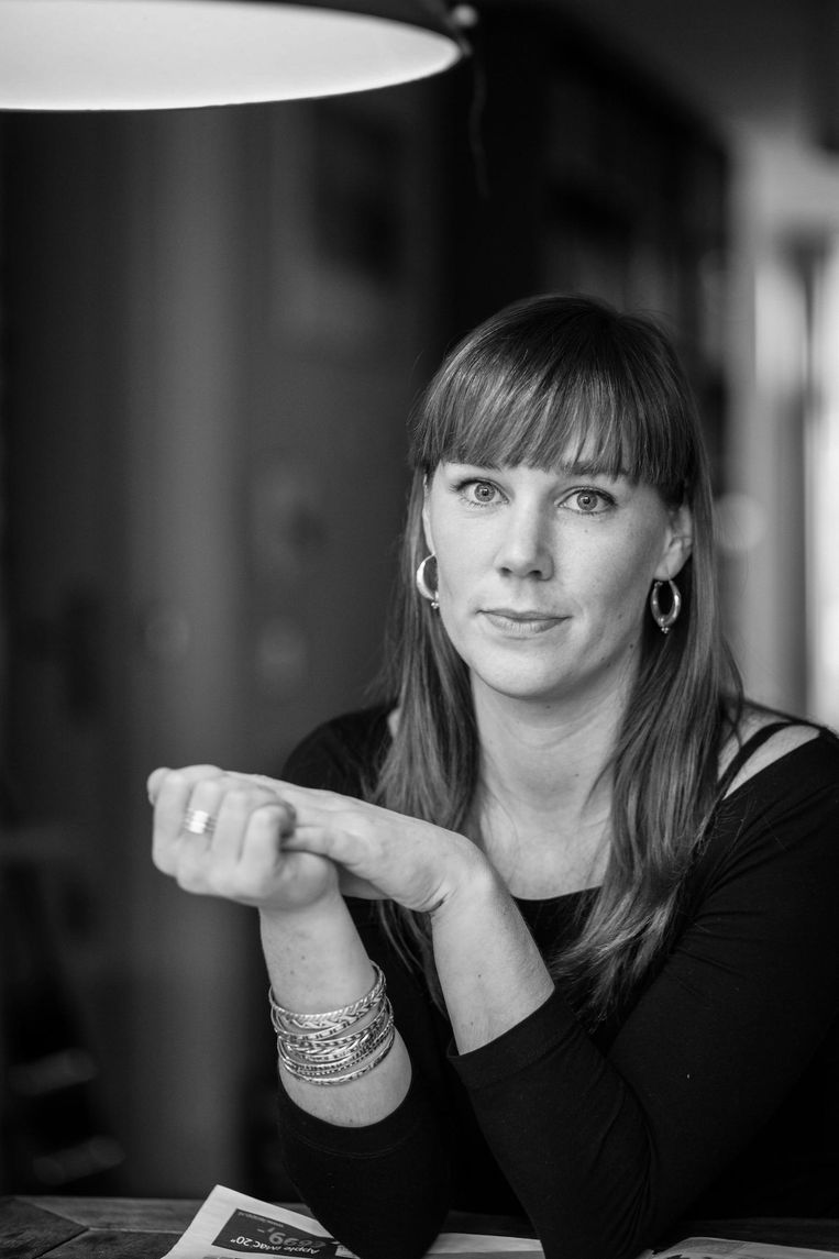 Marianne Lamers is journalist voor o.a. World's Best News, een journalistieke organisatie die bericht over de vooruitgang in de wereld. Beeld .