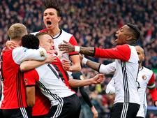 LIVE: Feyenoord aan de leiding na sterke eerste helft