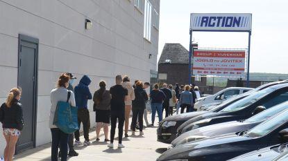 """Tot een uur wachten aan Action in Ninove: """"Eerste klanten waren er al meer dan een uur voor opening"""""""
