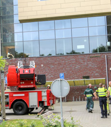 Twee afdelingen ziekenhuis Meander tijdelijk ontruimd vanwege brand in muur