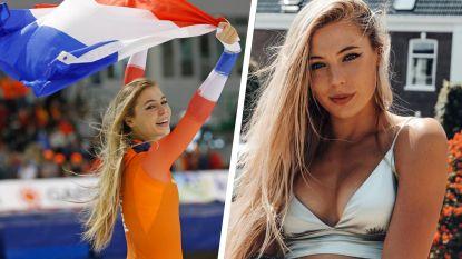Jutta Leerdam, de 21-jarige koningin van het WK schaatsen: diva, monster en wereldkampioene in één
