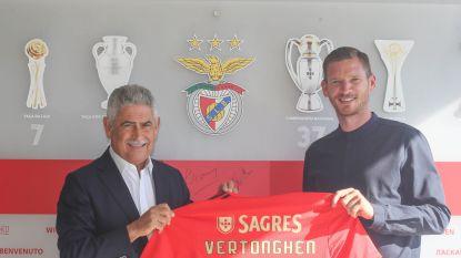 """Jan Vertonghen officieel voorgesteld bij Benfica: """"Axel Witsel zei me dat het hier geweldig was"""""""