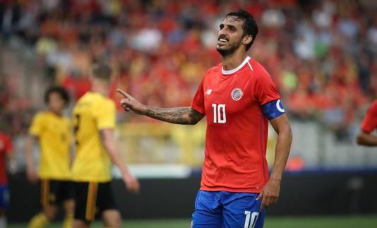 Bryan Ruiz na zijn doelpunt tegen België maandag.