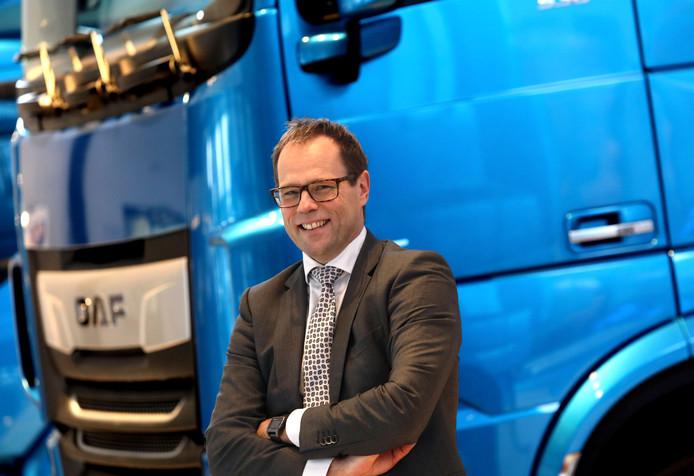 Harry Wolters nieuwe president directeur Daf trucks Eindhoven