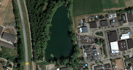 Het meer in Lobith
