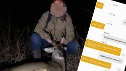 Vrouw pocht op datingapp over doodgeschoten hert, maar krijgt deksel op de neus: ze bleek te chatten met een boswachter