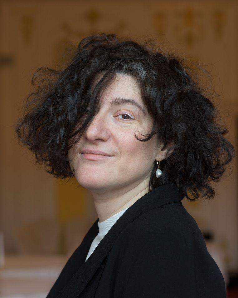 De Russische dichter Maria Stepanova. Beeld Hollandse Hoogte / Maartje Geels