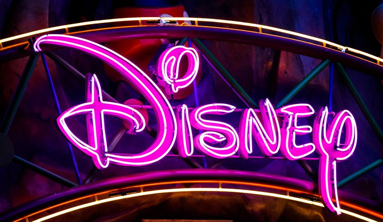 Het logo van Disney.