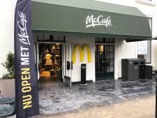 McDonald's op Buitenhof omgetoverd tot McCafé