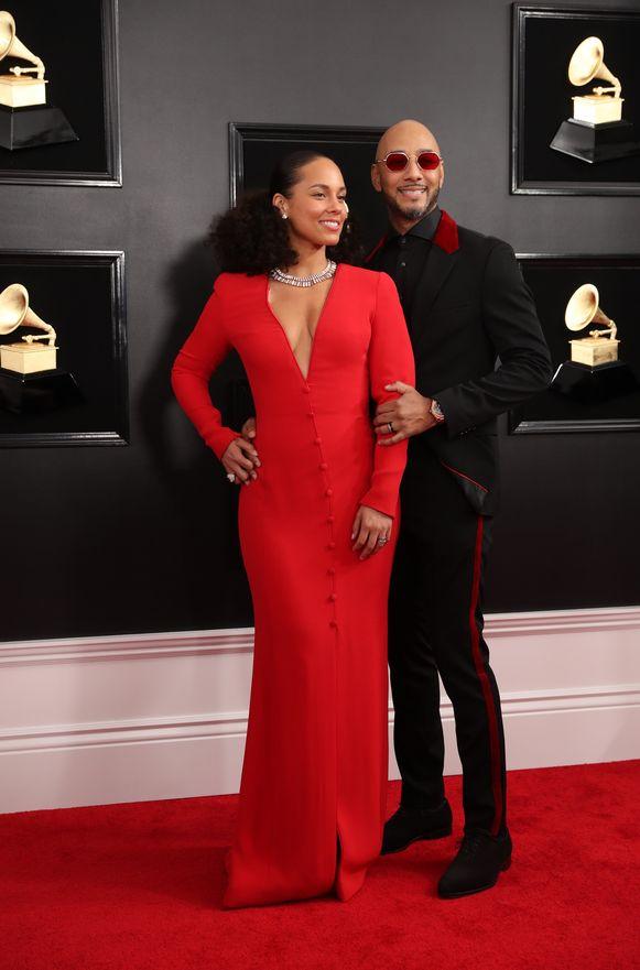 Alicia Keys en Swizz Beatz
