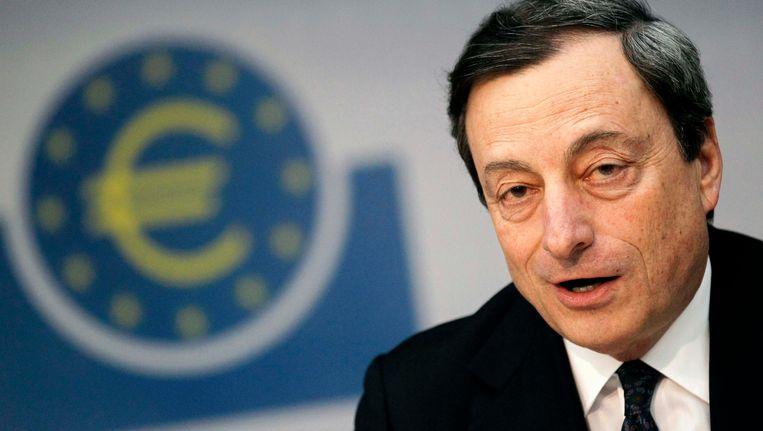 ECB-president Mario Draghi, begin juni in Frankfurt. Beeld REUTERS