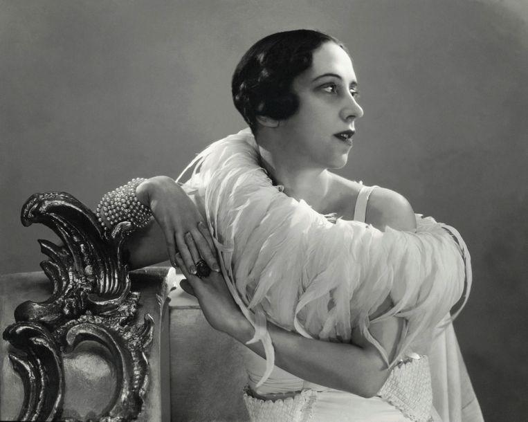 Elsa Schiaparelli, 1932.  Beeld Getty Images