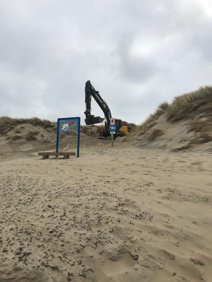 Strandovergangen worden vrij gemaakt.