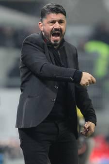 Gattuso heeft eerste overwinning als coach AC Milan te pakken