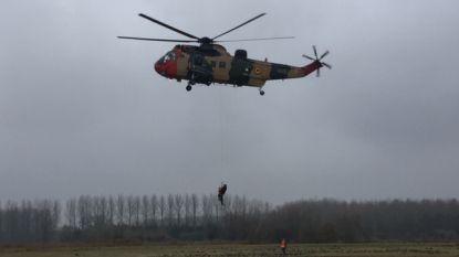 Belgisch leger evacueert honderden figuranten uit 'overstroomd Astene'