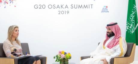 Kritiek op ontmoeting Máxima met Saudische kroonprins