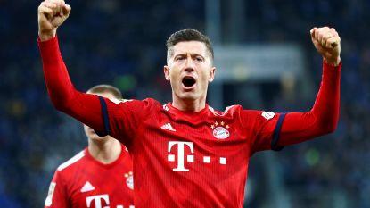 Bayern gaat winnen op het veld van Hoffenheim, Goretzka (2x) en Lewandowski aan het kanon